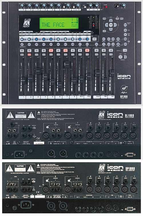 allen heath dl1000 icon series allen heath dl1000 icon series digital mixing console 14in. Black Bedroom Furniture Sets. Home Design Ideas