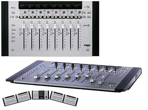 EUPHONIX MC Mix - EUPHONIX MC Control, DAW-Controller with 8 Motor