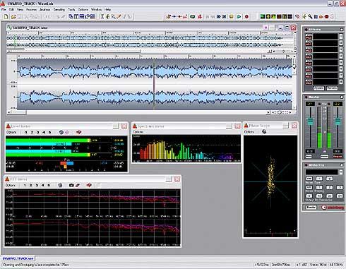 wavelab software