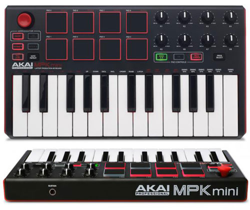 akai mpk mini mk2 akai mpk mini mk2 performance usb midi pad rh dancetech com akai mpk mini manual download akai mpk mini manual pdf