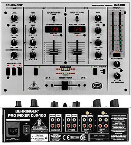 behringer podcast 802 installation diagram