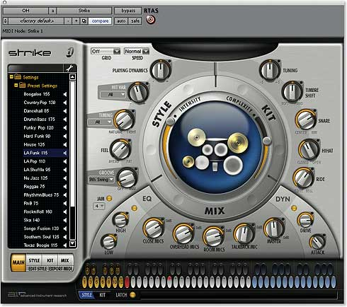DIGIDESIGN Strike - Digidesign Strike - virtual drummer plug-in