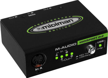M-audio MIDISPORT 8X8/S - M-AUDIO MIDISPORT 8X8/S 8 In/8Out, USB or on