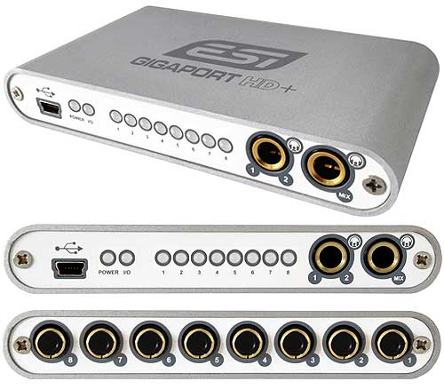 esi gigaport hd esi gigaport hd 8 channel usb audio interface supports up to 24bit 96khz. Black Bedroom Furniture Sets. Home Design Ideas