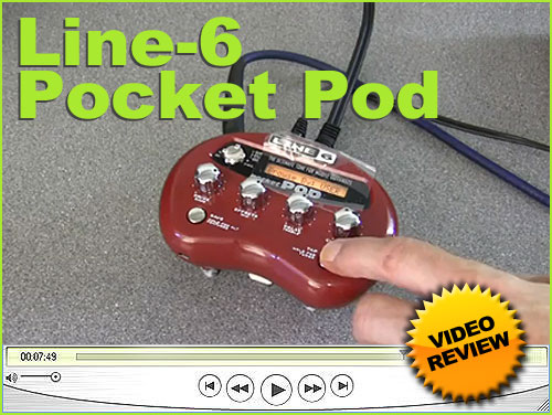 Line6 Pocket Pod Small And Versatile The Line 6 Pocket Pod Brings Quality Guitar Amp Modelling Effects At An Affor