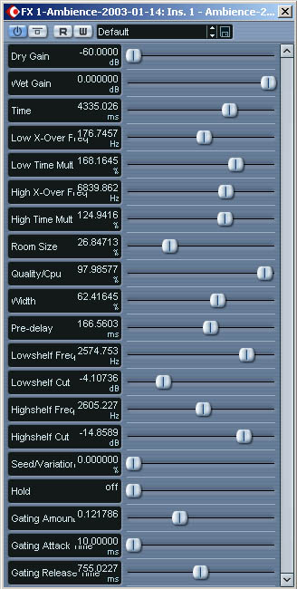 Smart Electronix Ambience - super free reverb plugin for