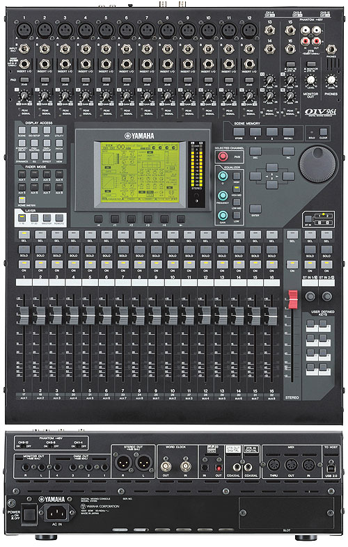 yamaha 01v manual yamaha 01v digital mixer the worlds first budget digital console and it. Black Bedroom Furniture Sets. Home Design Ideas