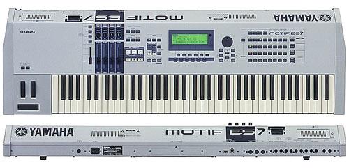 Yamaha Motif Reset