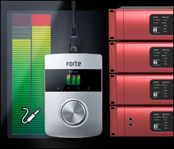 Focusrite usb audio intreface with mic pres