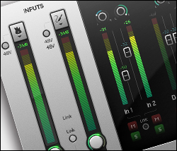 Focusrite DAW control interface
