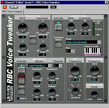 rbc audio voice tweaker rbc voice tweaker is an alternative auto