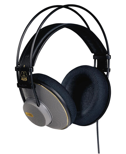 AKG K501 - AKG K501, professional stereo headphones, dynamic, open ...