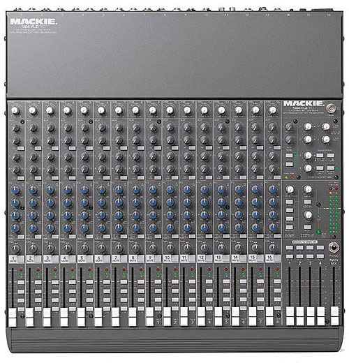 Mackie 1604vlz mixing console overview youtube.