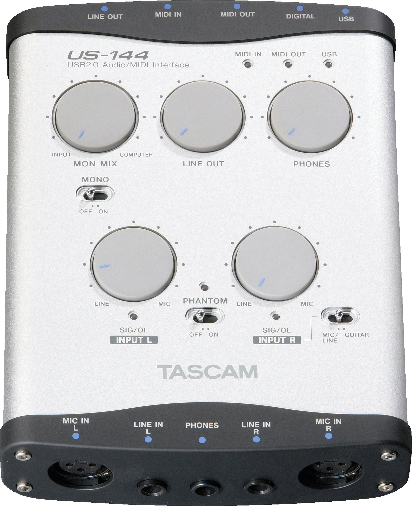 Pro Category Products Center Tascam Us 144 Tascam Us 144