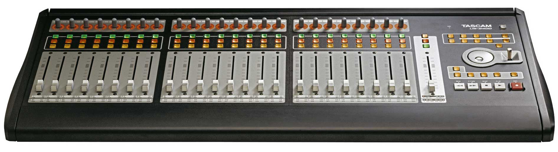Tascam Us 2400 Tascam Us 2400 Daw Controller With 25